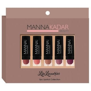 Manna Kadar Cosmetics 5-piece Lipstick Set