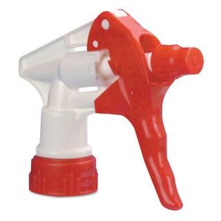 Boardwalk Trigger Sprayer 250 f/24-ounce Bottles Red/White 8-inchTube 24/Carton