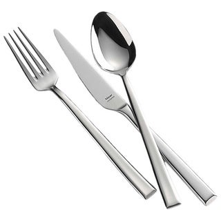 Miami Mirror-polished Finish 30-piece Flatware Set with Service for 6 by Hisar