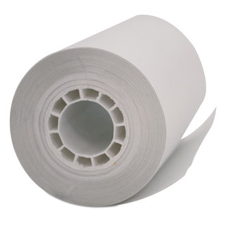 PM Company Single Ply Thermal Cash Register/POS Rolls 2 1/4 inches x 55 feet White 50/Carton