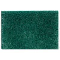 Scotch-Brite PROFESSIONAL Commercial Heavy-Duty Scouring Pad 86 Green 6 x 9 12/Pack