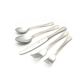 Topkapi 30-piece Flatware Set with Gold-Decorated Finish Service for 6