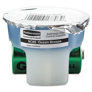 Rubbermaid Commercial SeBreeze Fragrance Cassette Ocean Breeze 1.25oz 6/Carton