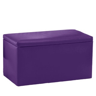 Purple benches settees shop the best deals for mar 2017 Purple storage bench