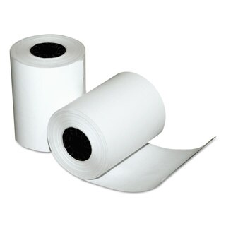 Quality Park Single-Ply Thermal Cash Register Rolls 2-1/4-inch wide x 80-feet long White 50/Carton