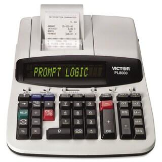 Victor PL8000 One-Color Prompt Logic Printing Calculator Black Print 8 Lines/Sec