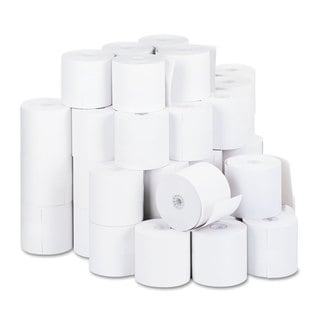 Universal 1-Ply Cash Register/Point of Sale Roll 16 -pound 1/2-inch Core 2-3/4-inch x 190 ft 50/Carton