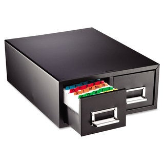 SteelMaster Drawer Card Cabinet Holds 3 000 5 x 8 cards 18 2/5-inch x 16-inch x 7 1/4-inch