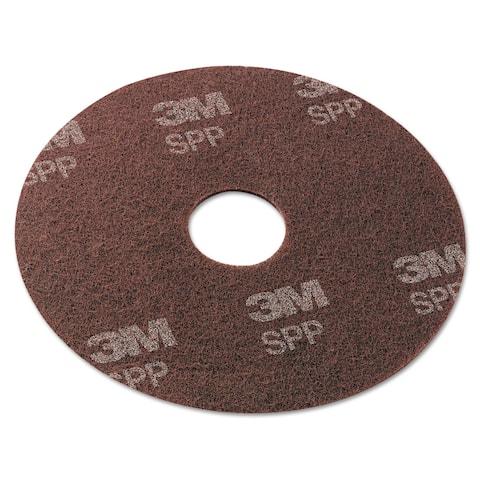 3M Surface Preparation Pad 17-inch Maroon 10/Carton