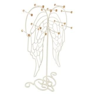 Ikee Design Metal Angel Wing Jewelry Organizer