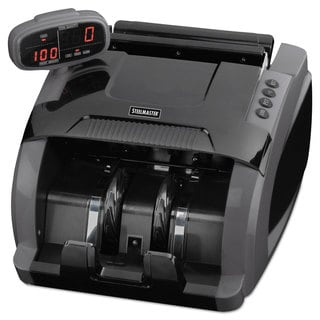 SteelMaster 4800 Currency Counter 1080 Bills/Min 9 1/2 x 11 1/2 x 8 3/4 Charcoal Grey