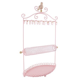 Ikee Design Metal Jewelry Display and Stand Hanger Organizer