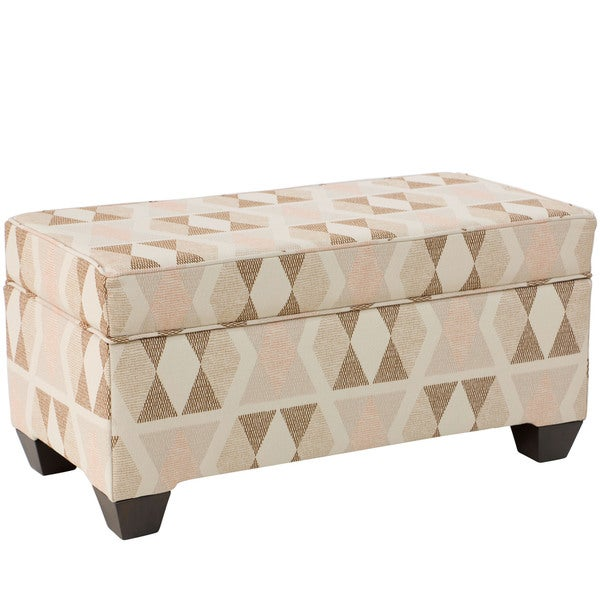 Shop Skyline Furniture Almasi Upholstered Storage Bench