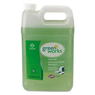 Green Works Manual Pot & Pan Dish Liquid Original 1gal Bottle
