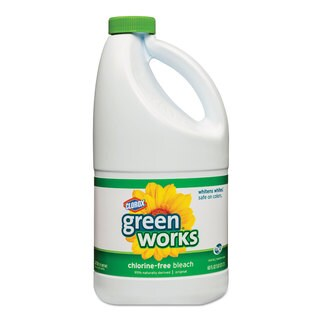 Green Works Chlorine Free Stain Remover & Bleach, 60oz Bottle, (Pack of 8)