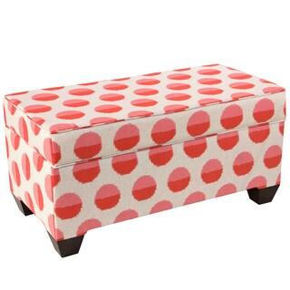 Skyline Furniture Margot Flamingo Print Storage Bench