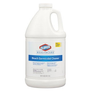 Clorox Healthcare Hospital Cleaner Disinfectant with Bleach 2qt Refill 6/Carton
