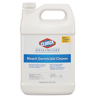 Clorox Healthcare Hospital Cleaner Disinfectant with Bleach 128-ounce Refill