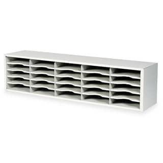 Safco E-Z Sort Steel Mail Sorter Module Light Grey Steel
