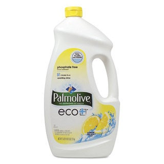 Palmolive Automatic Dishwashing Gel Lemon 75-ounce Bottle 6/Carton