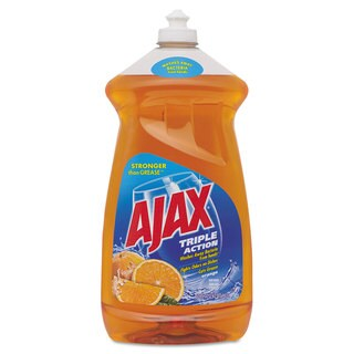 Ajax Dish Detergent Liquid Antibacterial Orange 52 -ounce Bottle 6/Carton