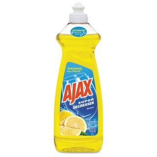 Ajax Dish Detergent Lemon Scent 28-ounce Bottle 9/Carton