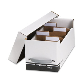 Fellowes Corrugated Media File Holds 125 Diskettes/35 Std. Cases