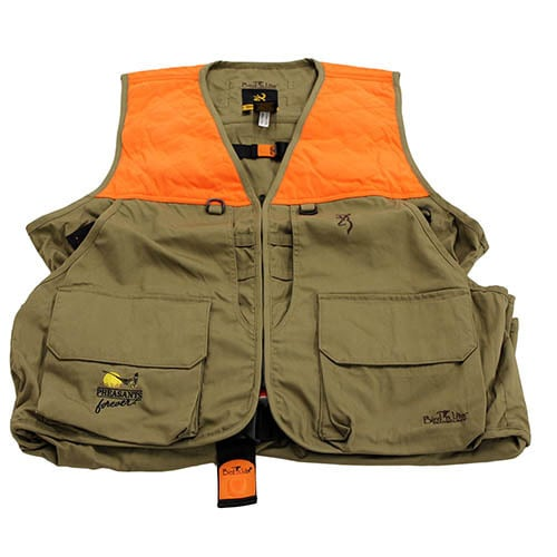 e9365a47d453a ... Hunting Jackets & Vests. Browning Bird-N-Lite Pheasants Forever Vest  (Khaki)