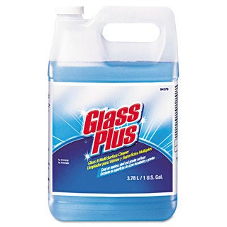 Glass Plus Glass Cleaner Floral 1gal Bottle 4/Carton