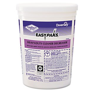 Easy Paks Heavy-Duty Cleaner/Degreaser 1.5-ounce Packet 36/Tub 2 Tubs/Carton