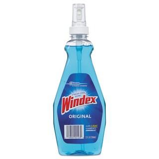 Windex RTU Ammonia-D Glass Cleaner Neutral 12oz Pump Bottle 12/Carton