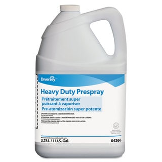 Diversey Carpet Cleanser Heavy-Duty Prespray 1gal Bottle Fruity Scent 4/Carton
