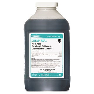 Diversey Crew Non-Acid Bowl and Bathroom Cleaner 2.5L 2/Carton 2/Carton