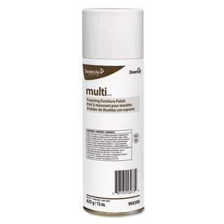Diversey MULTI Foaming Furniture Polish Lemon Scent 15-ounce Aerosol 12/Carton
