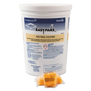 Easy Paks Neutral Cleaner .5-ounce Packet 90/Tub 2 Tubs/Carton