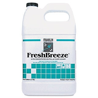 Franklin Cleaning Technology FreshBreeze Ultra Concentrated Neutral pH Cleaner Citrus 1gal 4/Carton
