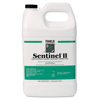 Franklin Cleaning Technology Sentinel II Disinfectant Citrus Scent Liquid 1 gal. Bottles 4/Carton