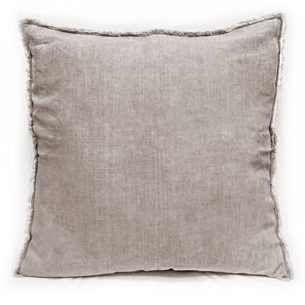 Sagebrook Home Lavender Linen Decorative Throw Pillow