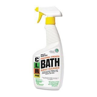 CLR PRO Bath Daily Cleaner Light Lavender Scent 32-ounce Pump Spray 6/Carton