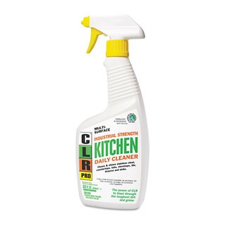 CLR PRO Kitchen Daily Cleaner Light Lavender Scent 32-ounce Spray Bottle 6/Carton