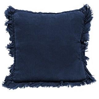 Sagebrook Home Trudy Linen Decorative Ruffel-N Throw Pillow