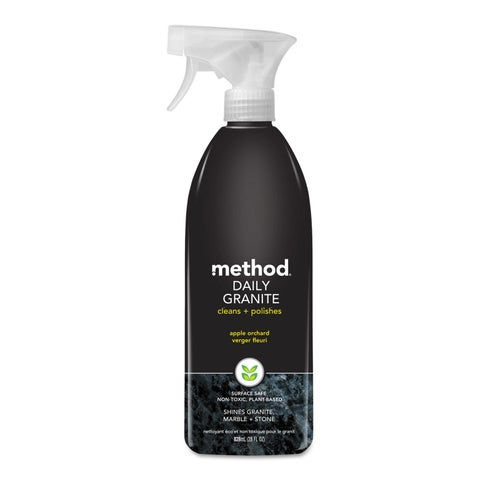 Method Daily Granite Cleaner Apple Orchard Scent 28-ounce Spray Bottle 8/Carton