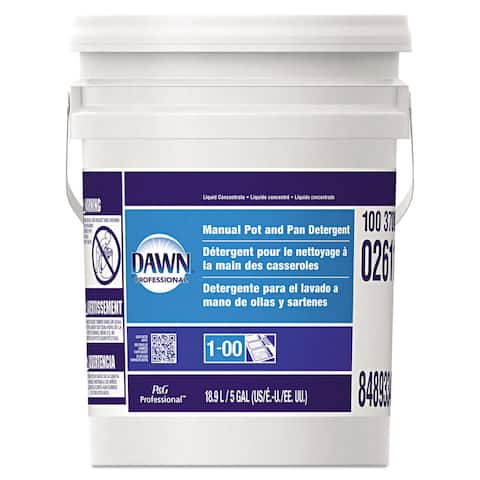 Dawn Professional Manual Pot & Pan Dish Detergent Original Scent Five Gallon Pail
