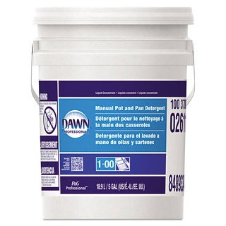 Dawn Professional Manual Pot & Pan Dish Detergent Original Scent Five Gallon Pail