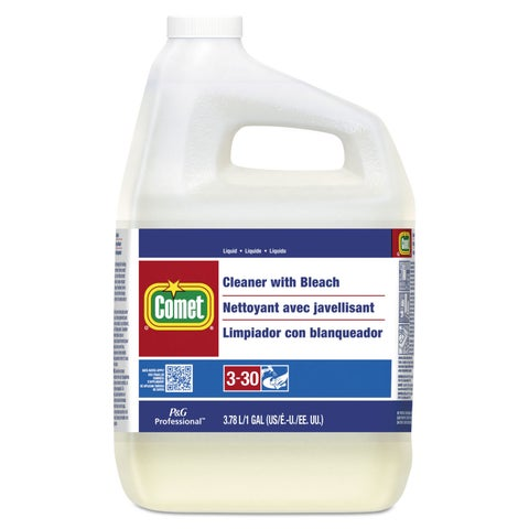 Comet Cleaner with Bleach Liquid One Gallon Bottle 3/Carton