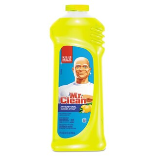 Mr. Clean Multi-Surface Antibacterial Cleaner Summer Citrus Scent 24-ounce Bottle 9/Carton