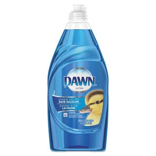 Dawn Liquid Dish Detergent Ultra Concentrated Original Scent 21.6-ounce Bottle 10/Carton