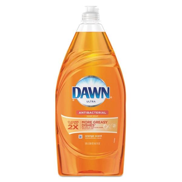 Dawn Liquid Dish Detergent Antibacterial Orange Scent 34.2-ounce Bottle 8/Carton. Opens flyout.