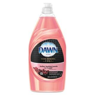 Dawn ULettera Hand Renewal Dishwashing Liquid With Olay,Pomegranate Splash 28-ounce 12/Cartonn