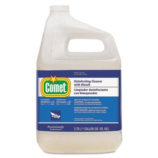 Comet Disinfecting Cleaner with Bleach 1 gal Bottle 3/Carton